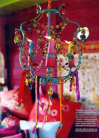 E gypsy chandelier