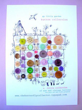 Button garden pastel 1