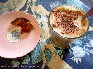 Tea and toast w