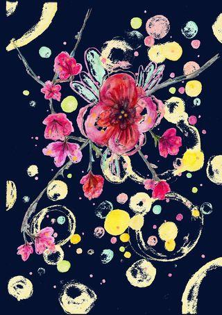 Cofetti blossom ink copy