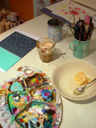 My desk shae reid dec 2011