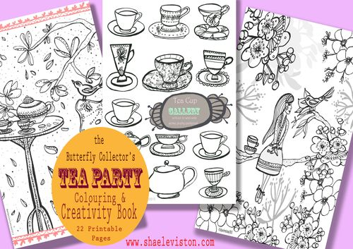Tea party cover promo four copy