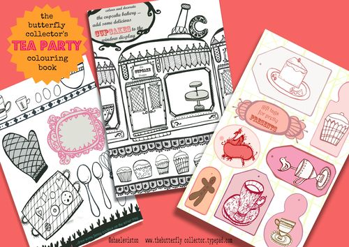 Tea party activity book shae leviston