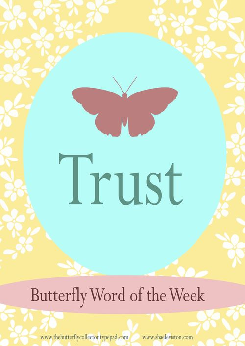 Buttefly word trust shae leviston 2014