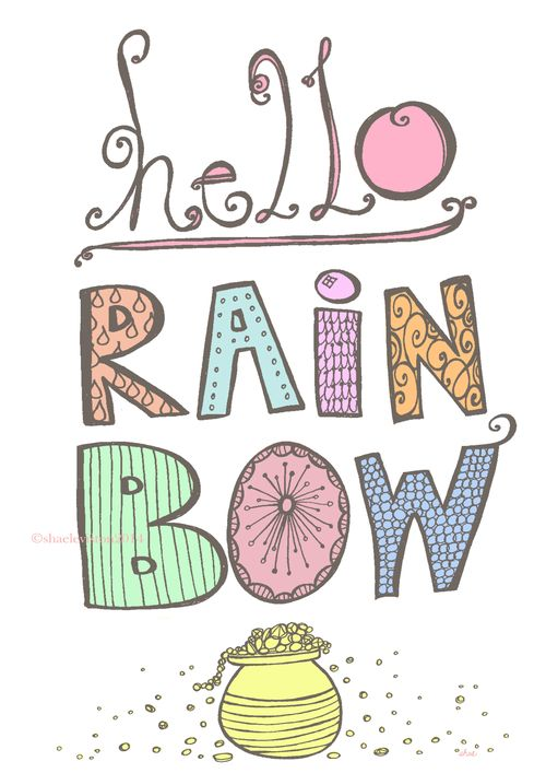 Hello rainbow pastel dark grey wm copy