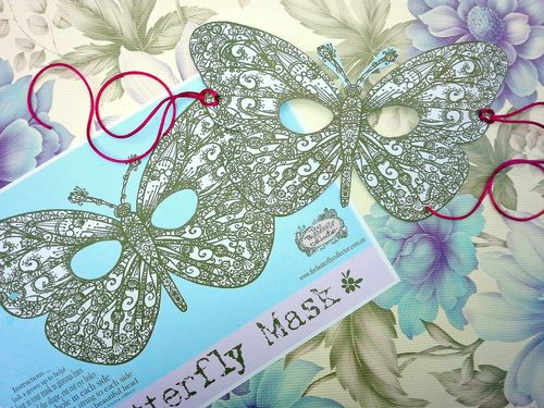 Butterfly mask 2