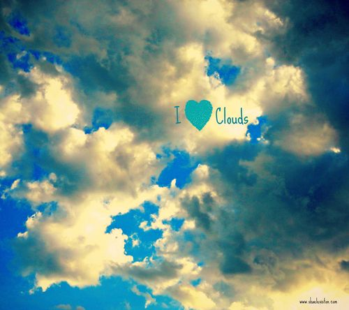 I love clouds jan 2014 shae leviston