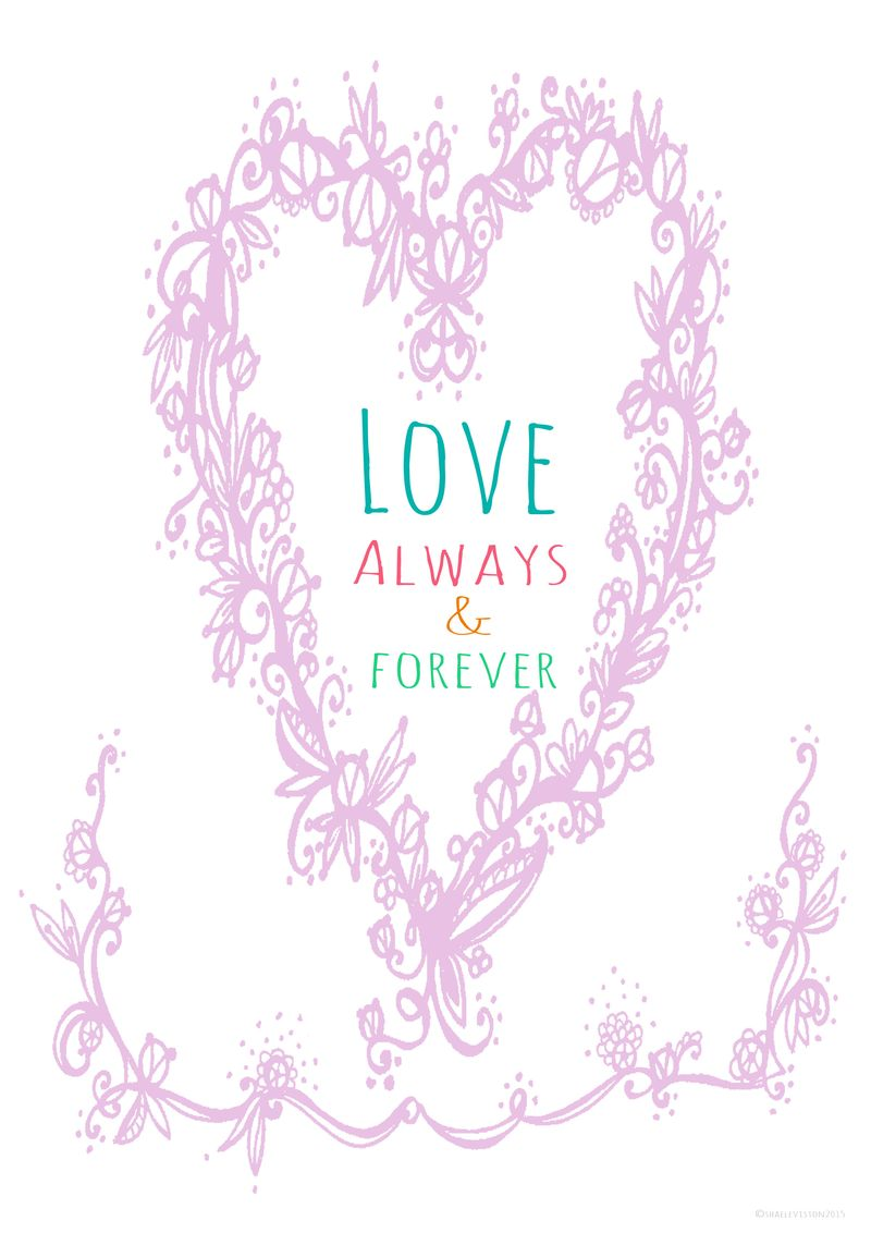 Love always and forever colour copy