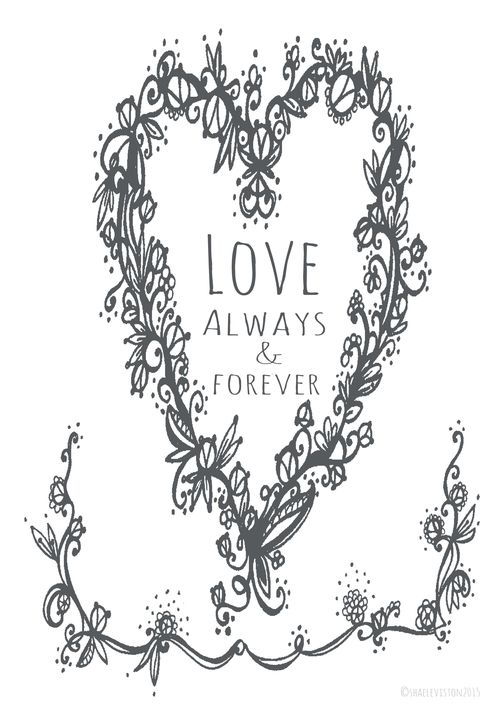 Love always and forever copy