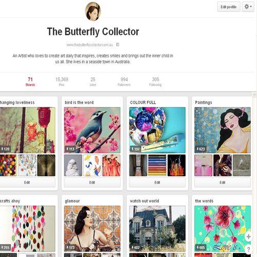 Pinterest page copy