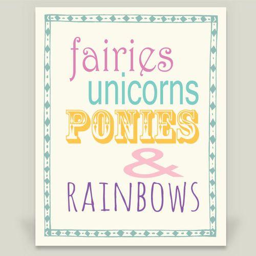 Fairies ponies promo