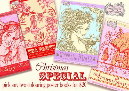 Colour book promo christmas copy