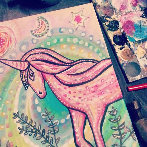 Unicorn shantih
