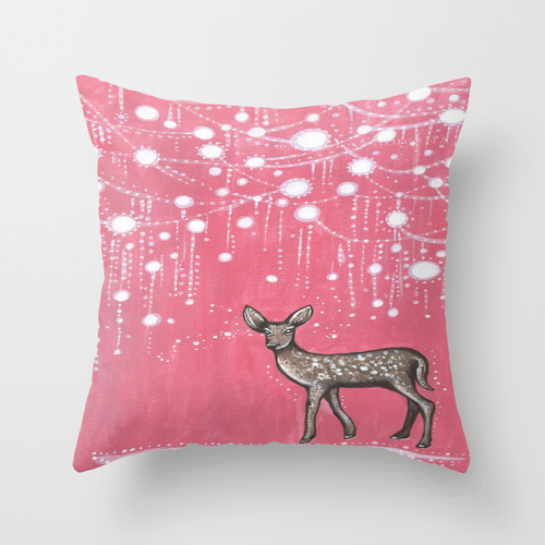 Rain deer cushion