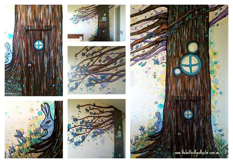Tree mural wmPicMonkey Collage
