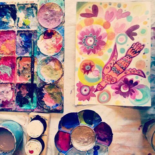 Paint table sept 1 2015