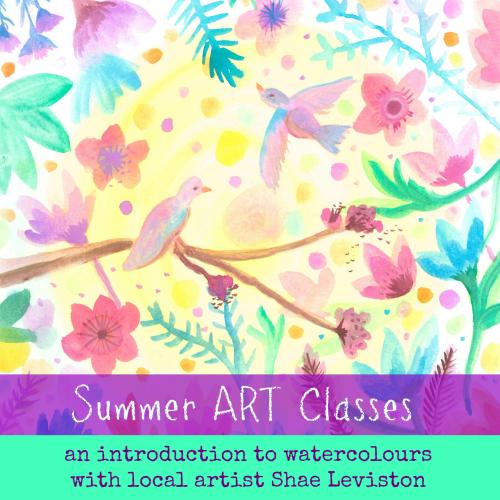 Summer art class square